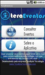 Tera Eventos - screenshot thumbnail