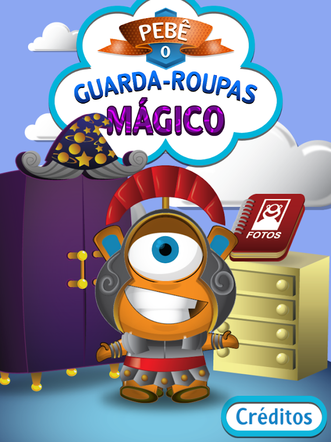Guarda Roupas Mágico do Pebê - screenshot