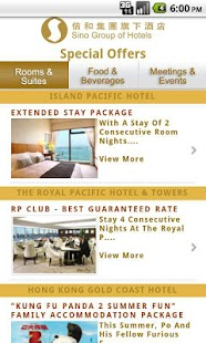Sino Group of Hotels- screenshot thumbnail