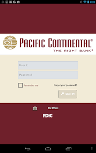 PCB Mobile Banking - screenshot thumbnail