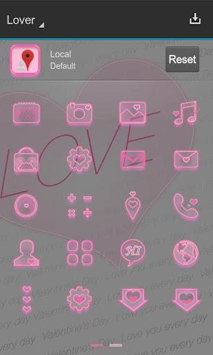 玩免費個人化APP|下載Lover Next桌面3D主题 app不用錢|硬是要APP