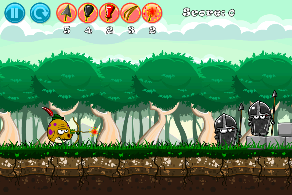 Porkin Hood- screenshot