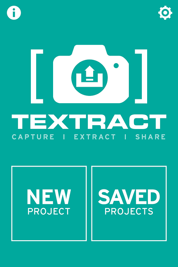 Textract - screenshot