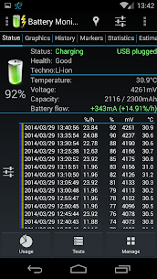Battery Monitor Widget Pro V1.4.1 Mod APK 4