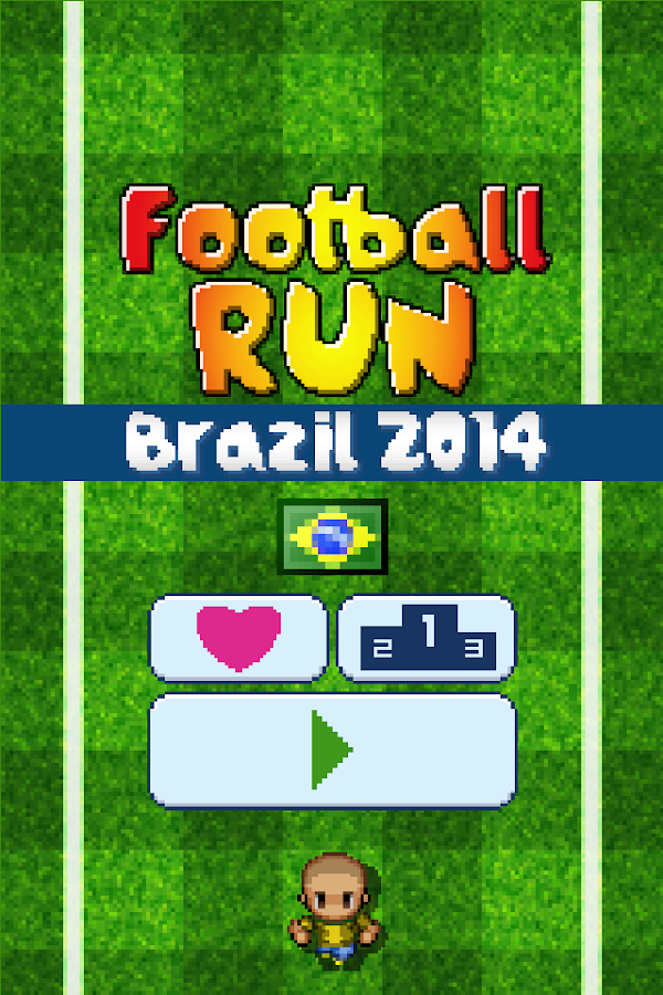 Football Run - Brazil 2014- screenshot
