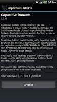 Screenshot of Capacitive Buttons