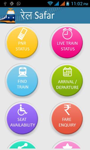 PNR Status Live Train Status
