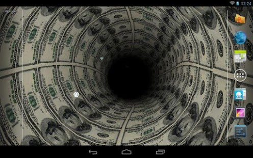 Money Tunnel Live Wallpaper +- screenshot thumbnail