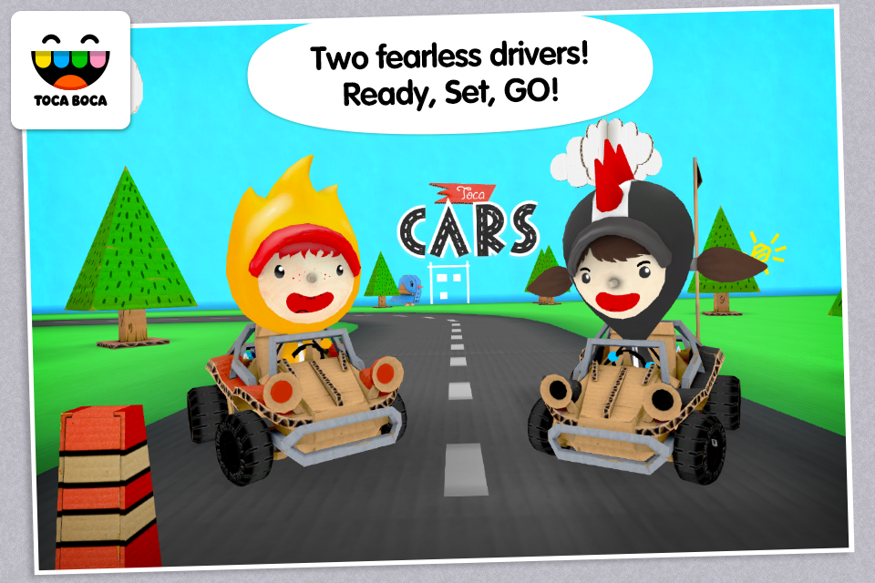 Toca Cars- screenshot