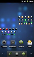 Screenshot of Binary Countdown Widget