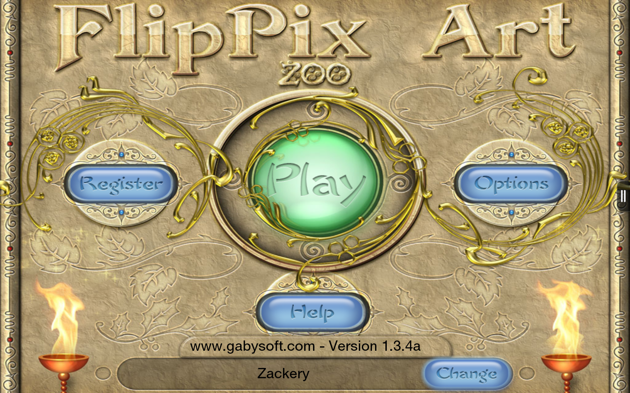FlipPix Art - Zoo- screenshot