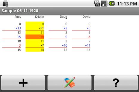 Super Scorepad Lite- screenshot thumbnail