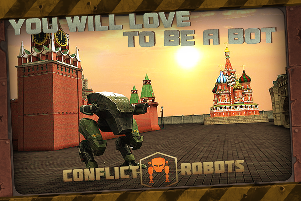 CONFLICT ROBOTS MULTIPLAYER - screenshot