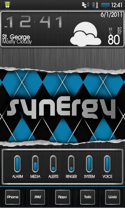 SynErgy (CM7+) Theme- screenshot
