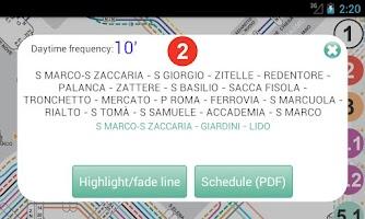 Screenshot of Vaporetto Lines of Venice