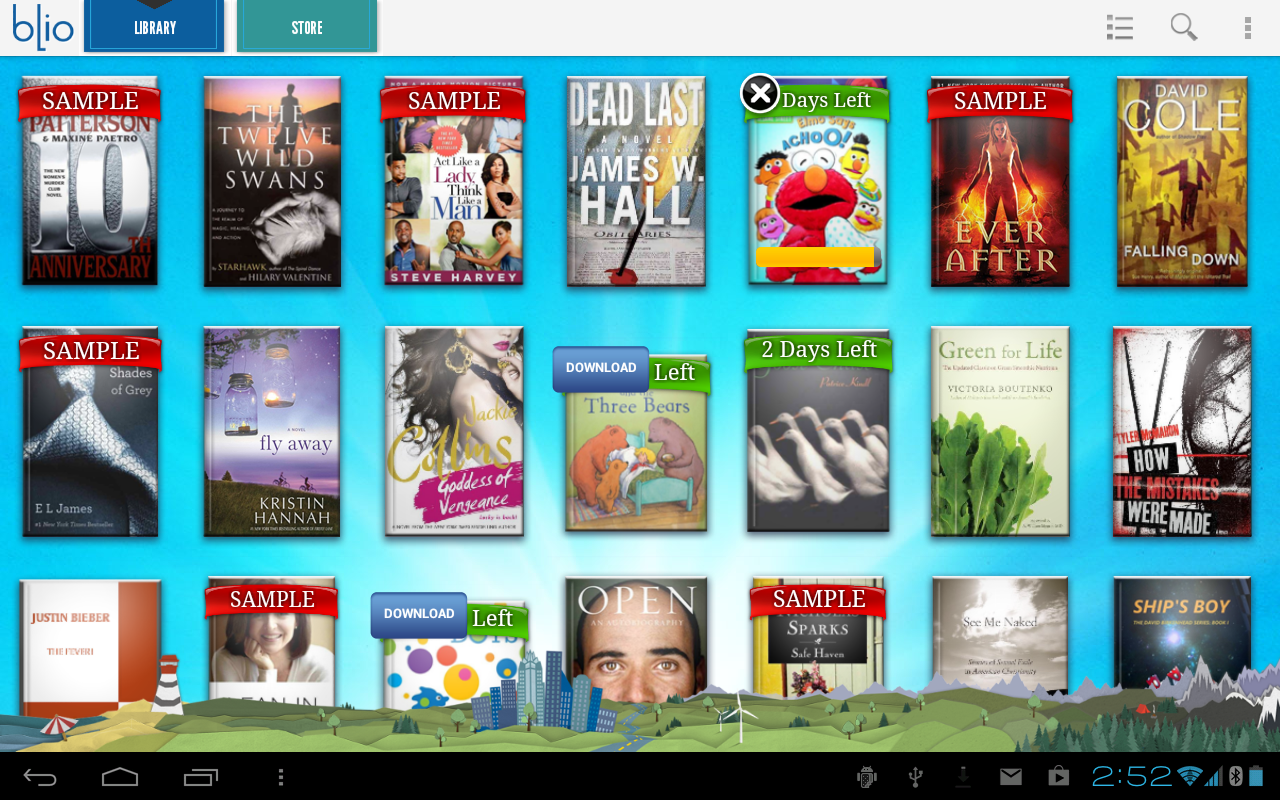 Blio eBooks - screenshot