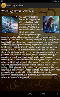 Zodiac Signs & Tarot - screenshot thumbnail