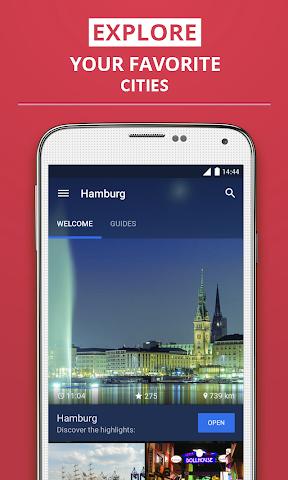 Screenshot 1 Hamburg Reiseführer