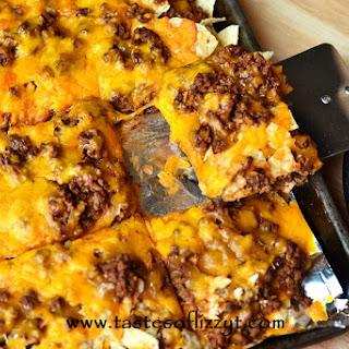 Tortilla Chip Mexican Pizza