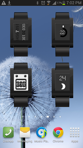 PEBBLE WATCH WIDGET