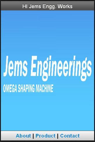 Omega Shaping Machine