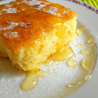 Cream Cheese Pie With Coconut and Honey.
