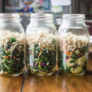 Cruciferous Salad with Asian Sesame Dressing