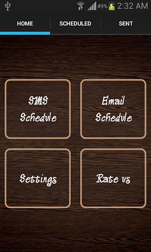 Message Email Scheduler