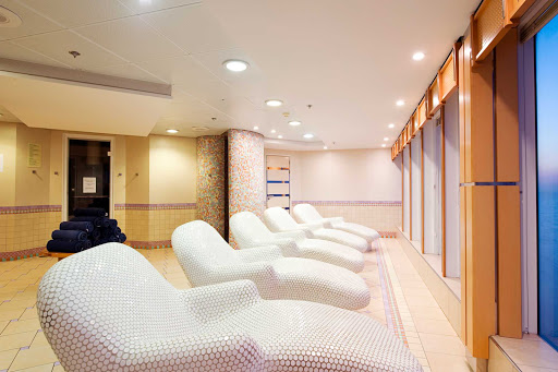 MSC-Armonia-Spa - MSC Armonia's spa is a tranquil retreat where guests are invited to relax and renew.