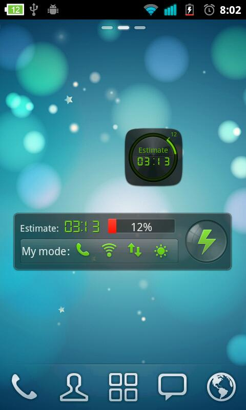 Black Widget GO Power Battery - screenshot