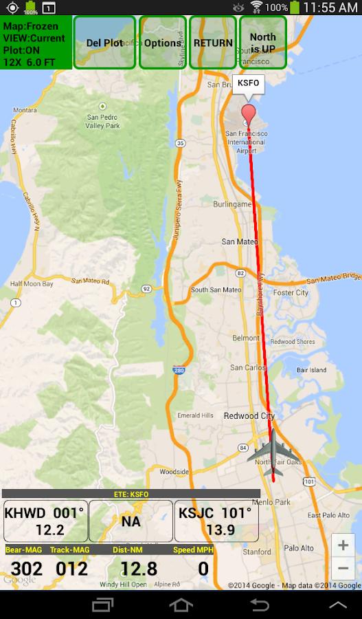 VFR Nav+ WorldWide GPS Air NAV- screenshot