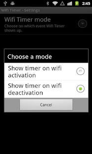 Free WiFi Timer - screenshot thumbnail
