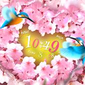 SAKURA*SAKU Live Wallpaper