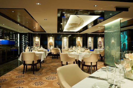 Norwegian-Breakaway-The-Haven-restaurant - Enjoy your meals at The Haven, one of Norwegian Breakaway's elegant restaurants.