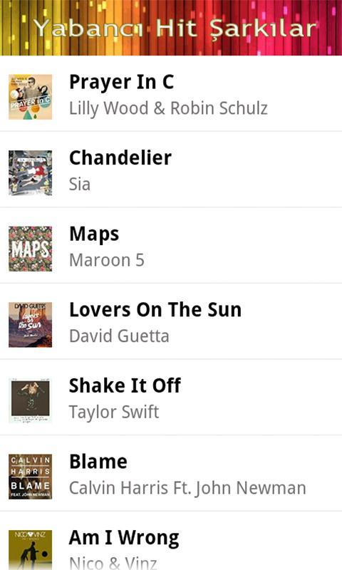 Hit Şarkılar Zil Sesleri - screenshot