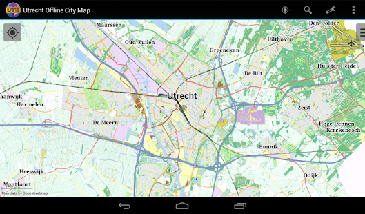 Utrecht Offline City Map- screenshot thumbnail