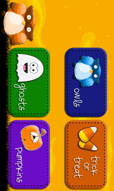 Halloween Memory Game- screenshot