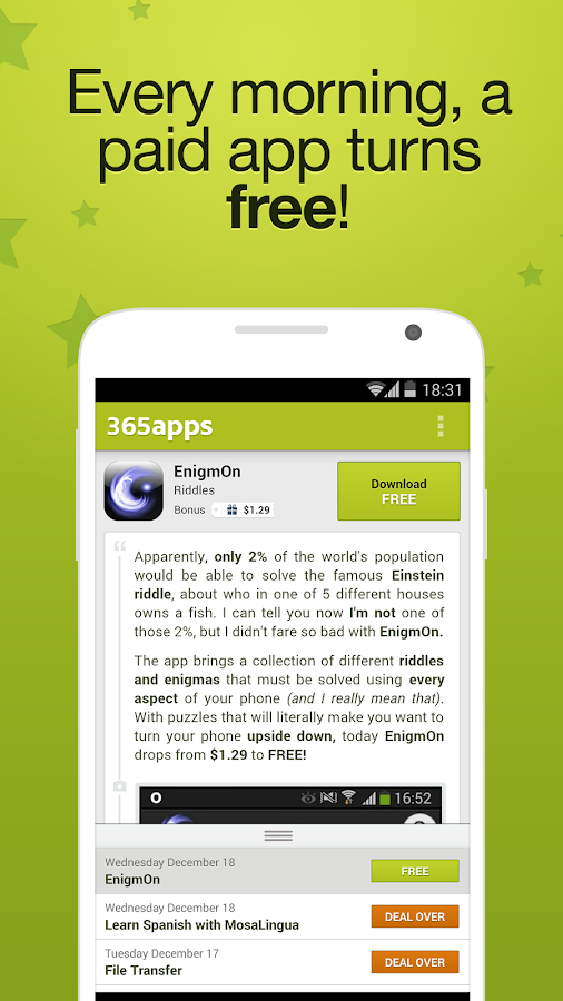 365Apps (ex - Free Apps 365) - screenshot