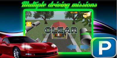 Screenshot of 3D Car Parking Challenge