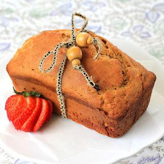 Citrus Pound Cake & Date Sugar Icing