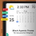 Black Agenda Theme ssLauncher icon