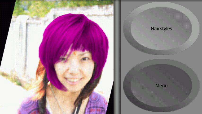 Try Hairstyle - screenshot