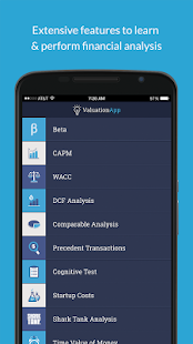 Valuation App- screenshot thumbnail