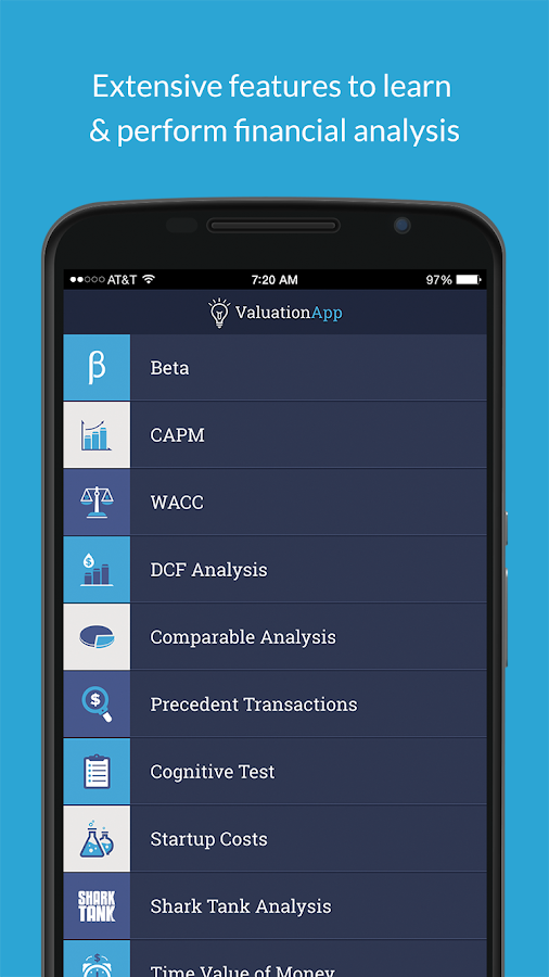 Valuation App – скриншот