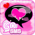 Cute Pink Theme for GO SMS PRO icon