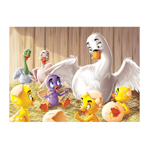 The Ugly Duckling tale video