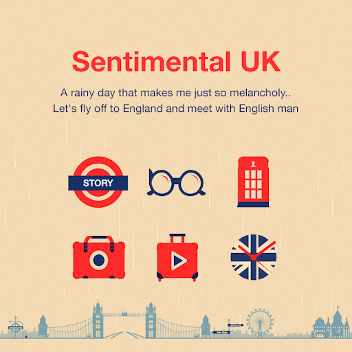 Sentimental UK Dodol Theme