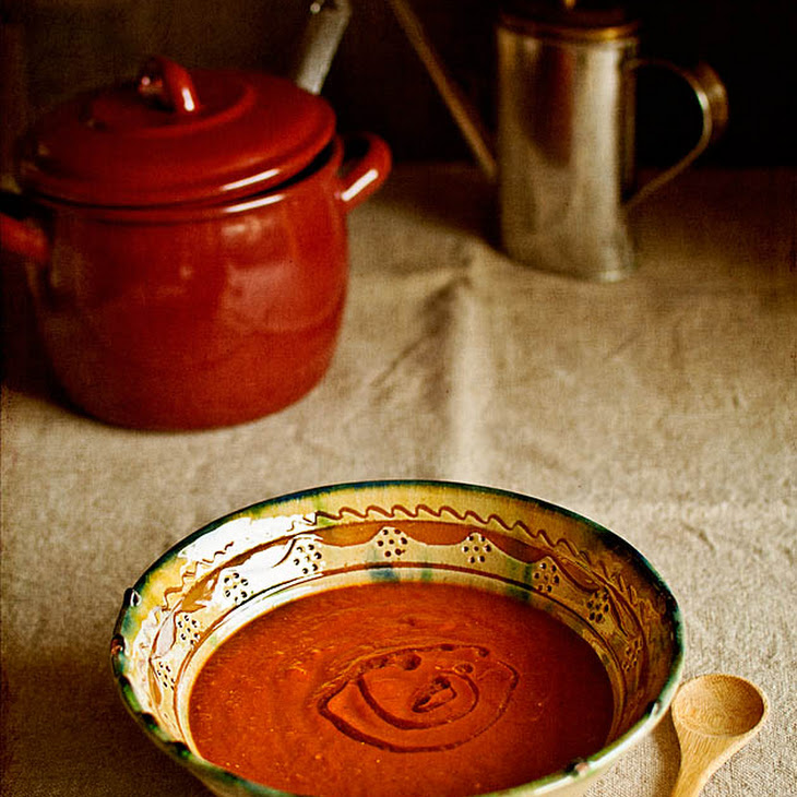 Bell Pepper and Roasted Tomato Cream Soup Recipe