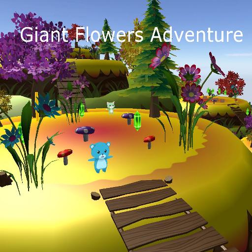 Giant Flowers Adventure