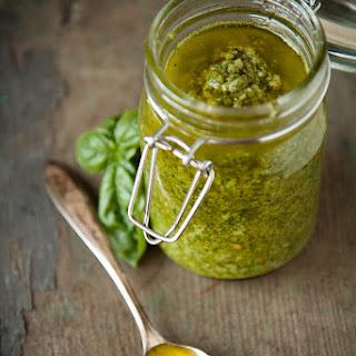 Simple Basil & Sunflower Seed Pesto.